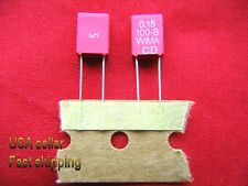 3 pc - .15uf (0.15uf) 100v WIMA metalized poly film capacitors FREE SHIPPING(rd)
