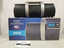 Sirius SUBX1 Satellite Radio Plug and Play Boombox Don't Have ReceiverTo Test It