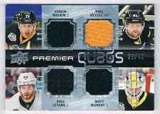 2016-17 PREMIER QUADS JERSEYS EVGENI MALKIN FOUR JERSEYS 2 JERSEY 2 COLORS 36/49