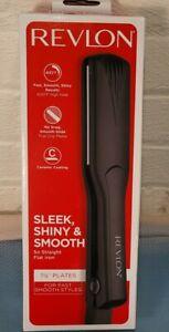 Revlon Flat Iron Hair Straightener 1 1/2 inch Plate New 761318021810 new in box