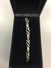 10kt Yellow Gold Diamond Bracelet