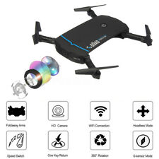 Foldable Selfie Drone With WiFi FPV 720p HD Camera 2.4g 6-axle RC Quadcopter Toy