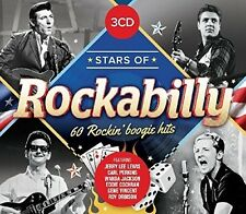 Stars Of Rockabilly - 3 DISC SET - Stars Of Rockabilly (2016, CD NEUF)