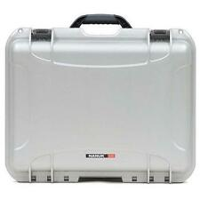 Nanuk 930 Waterproof Hard Case with Padded Dividers - Silver.