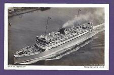 DMS Baloeran Original Photo Postcard - Rotterdamsche Lloyd Co.