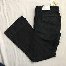 Ann Taylor Loft Petites Size 6P Julie Curvy Trouser Leg Jeans Dark Wash NWT