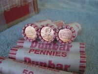 2002 **Original Bank Wrapped ** Uncirculated Lincoln Cent Roll - OBW Penny's (X)