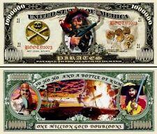 Les PIRATES - BILLET MILLION DOLLAR US ! Collection Corsaire Flibustier Aventure