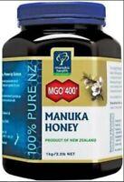 NEW Manuka Health MGO 400+ Manuka Honey 1KG - 100% Pure New Zealand