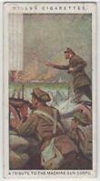WWI British Royal Army Machine Gun Corps c100 Y/O Trade Ad Card