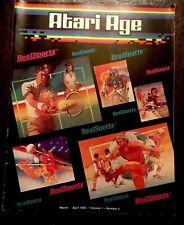 ATARI AGE  MAGAZINE MARCH/APRIL 1983 IN GOOD CONDITION! RARE!