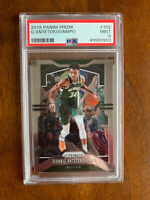 2019 PRIZM #152 (2X MVP) GIANNIS ANTETOKOUNMPO PSA 9 MINT Milwaukee Bucks 🏀