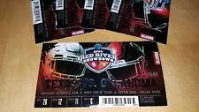 Oklahoma Sooners vs Texas Longhorns - Red River Showdown - 10/6/18 - Ticket Stub