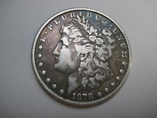 Circulated 1878 Morgan Silver Dollar Ungraded Uncertified Business Strike