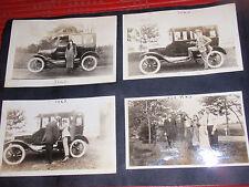 8 ANTIQUE PHOTOGRAPHS  1920'S  CARS AUTOMOBILES  ROCKAWAY BEACH SHORE   NURSES