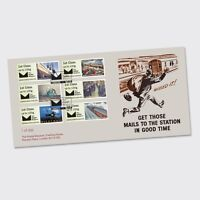 POSTAL MUSEUM MAIL BY RAIL BPMA FIRST DAY COVER Post Go 15/02/17 LTD ED SOLD OUT