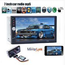 7'' 2 DIN BT Car Stereo Radio USB TF AUX Remote EQ Touch Screen Head Unit