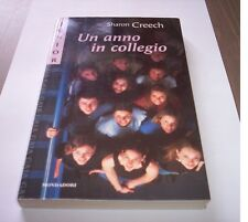 UN AÑO EN COLEGIO Sharon Creech Mondadori Junior 93 2000 libro