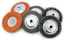 Meuleuse d'angle polissage Kit 65-préparation de surface pour le métal, peinture, rouille