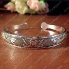 Tibetan silver Charm charming Lucky Double fish bracelet bangle NO:823