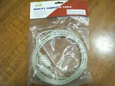 Keyboard Extension Cable for PC/XT/AT - 10 ft. M/F