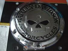 Harley Davidson Skull Kupplungsdeckel Derby Deckel Cover Sportster 25440-04A