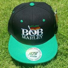 Bob Marley Hat Cap - Green - Free Shipping in the US