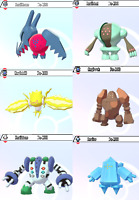 Regi Family Bundle (SHINY) (6IV) - (Pokemon Sword and Shield)