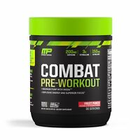 MusclePharm COMBAT Pre-Workout Energy, Pump, Focus 30 Servings PICK FLAVOR