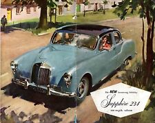 Armstrong Siddeley 234 1956-57 UK Market Foldout Sales Brochure