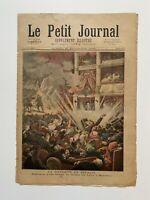 Supplément Illustré Le Petit Journal 25/11/1893, N°157, DYNAMITE EN ESPAGNE