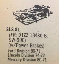 Brake Light Switch GP Sorensen SLS81