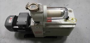 Leybold Trivac Dual Stage Rotary Vane Pumps D60T Working