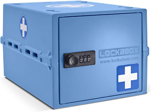 Lockabox One | Compact and Hygienic Lockable Box for Food, Medicines and Home