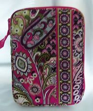 VERA BRADLEY E-READER SLEEVE CASE VERY BERRY PAISLEY RETIRED EXCELLENT CONDITION