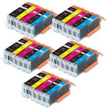 25PK Ink Cartridges for Canon PGI-250 CLI-251 BK C M Y PGBK MG5520 MG6420 MG5522