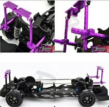Adjustable Alloy Stealth Body Stand Mount 078026P for 1:10 RC Car Purple