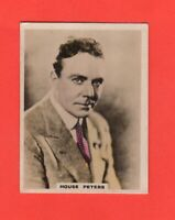 1920  21   House Peters  BAT CINEMA STARS, SET 5  Film Card Rare