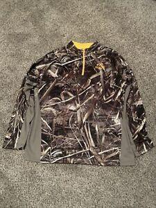 Adult 2XL Realtree Max-5 1/4 Zip Shirt