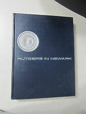 1964 Rutgers University in Newark Yearbook Annual Encore New Jersey