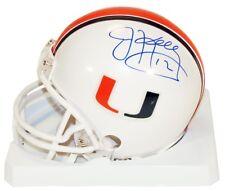 Jim Kelly Autographed University of Miami Hurricanes Football Mini Helmet