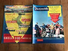 revue l automobile N 40 aout 1958