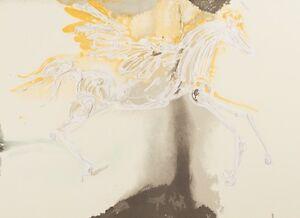 Salvador Dali - Pegasus (signed lithograph, 1983)