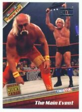 "HULK HOGAN & RIC FLAIR ""SILVER PARALLEL CARD #84 /30"" TNA NEW ERA 10"