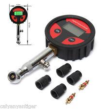 LCD Digital Tire Tyre Air Pressure Gauge Tester For Car Auto Motorcycle Bike PSI