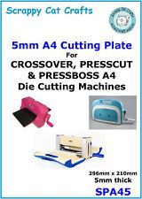 A4 X 5 mm placa de corte para pressbossa 4 Roller DIE Cutter: SPA45
