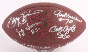 1975 Vikings Football Signed by 7 Siemon, McClanahan, Blair, Voigt, Marshall +2