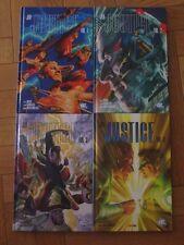 JLA - Justice - tome 1,2, 3 et 4 - Alex Ross - DC - Superman - EO
