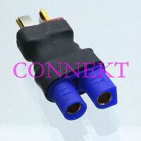1pce EC3 Female to T-Plug Deans Male No wire Adapter connector FOR RC Battery
