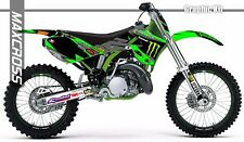 KAWASAKI KX125 KX250 1999 2000 2001 2002 MAXCROSS GRAPHICS KIT FULL MSP-STYLE-2
